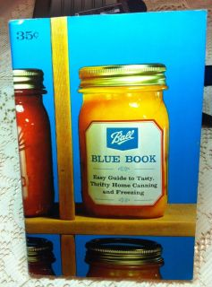 Vtg. 1966 Ball blue Book Easy Guide to Tasty, Thrifty Home Canning