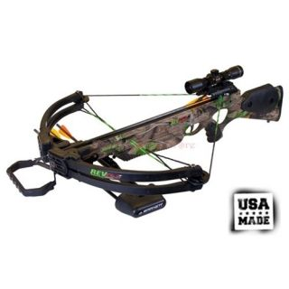 Barnett Revolution Avi Compound Crossbow Package Premium Red Dot Sight