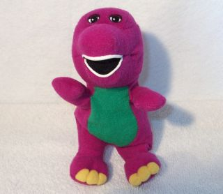 Barney The Purple Dinosaur 8 Bean Bag Plush Toy Doll