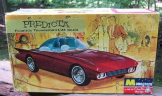 Box for Predicta 1965 Monogram Model Kit Darryl Starbird 1 24 Scale