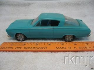 1966 Plymouth Barracuda Promo Model Friction Toy