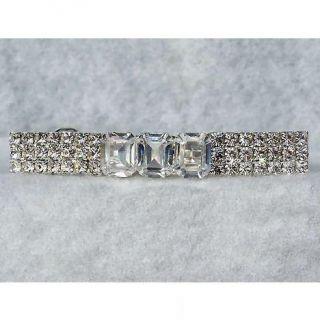 Emerald Desires Swarovski Crystal Rhinestone Barrette