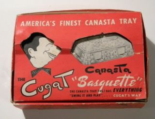 xavier cugat canasta set in box 1940s