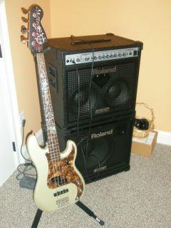 Fender Precision Bass Guitar Custom Inlaid Jazz Bass Neck