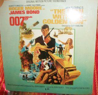 Golden Gun OST James Bond 007 SEALED ORG 1974 Stereo John Barry C C