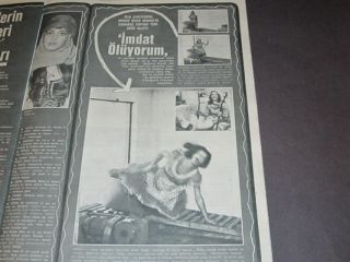 Candice Bergen Cover Shirley Bassey Diana Rigg Senta Berger Estella