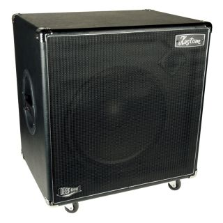 DE115H DEEP END 1 x 15 BASS GUITAR AMPLIFIER SPEAKER CABINET 250W NEW