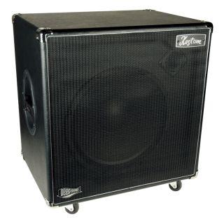 DE115H DEEP END 1 x 15 BASS GUITAR AMPLIFIER SPEAKER CABINET 250W NEW