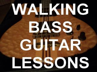 Walking Bass Guitar Lessons Country Rock Blues DVD