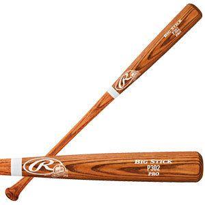34 Pro Preferred Ash Pro Stock Big Stick Wood Baseball Bat