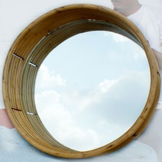 54 vintage paul frankl style bamboo art deco wall mirror bamboo
