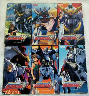 MOBILE SUIT 6 ANIME VHS Vdeos 17 Episodes 7 22 Unedited BANDAI ENT