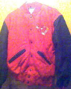 CHICAGO BULLS NBA Basketball Mens Adult Small Wool Varsity JACKET N E
