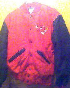 CHICAGO BULLS NBA Basketball Mens Adult Small Wool Varsity JACKET N E