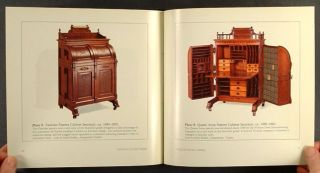 AMERICAN VICTORIAN WOOTON PATENT DESKS  American Furniture   Hardcover
