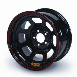 Bassett Racing 8 Spoke D Hole Lightweight Black Powdercoated Wheel