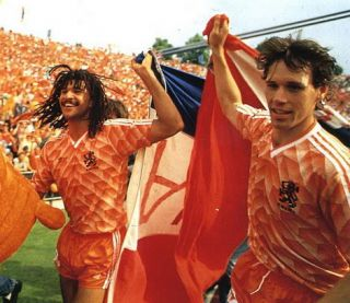 Holland Euro 1988 Replica Home Shirt ♥ Van Basten ♥ NO12