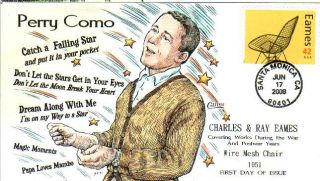Collins Hand Painted 4333 Eames Perry Como Catch Falling Star Papa