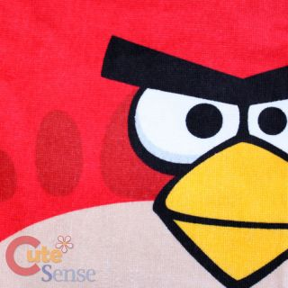 Rovio Angry Birds Beach Towel Bath Towel Watch Out 100 Cotton Licensed