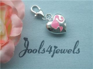 barbie style clip on charm for charm bracelets