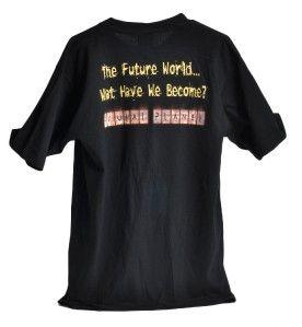 original alice cooper brutal planet t shirt large