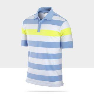 Nike Dri FIT UV Bold Chest Stripe Mens Golf Polo