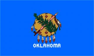 x5 Oklahoma US State Flag Outdoor Indoor Banner 3x5
