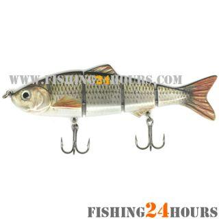 Multi Section Fishing Lure Bait Swimbait Bass Shad Minnow 4 8 0 7 oz