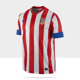 2012/2013 Atlético de Madrid Replica Short Sleeve Camiseta de fútbol