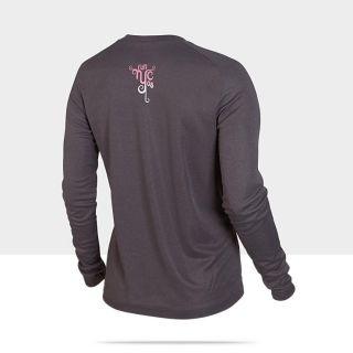 Nike Pro Basic Long Sleeve (NYC Marathon) Womens T Shirt