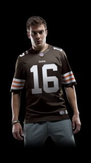 NFL Cleveland Browns (Joshua Cribbs) Mens Football Home