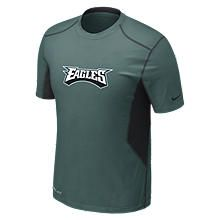 20 Fitted Short Sleeve NFL Eagles Mens Shirt 474316_339_A