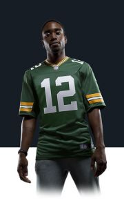 Aaron Rodgers Mens Football Home Limited Jersey 468922_323_A_BODY