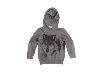 Stella McCartney Kids   Cosmo Boys Sweat Shirt w/ Wolf Print (Toddler