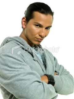 Hispanic or Native american male model Stock Photo iStock