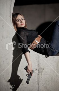 stock photo 20218510 femme fattale