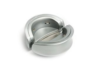 Metrokane Metallic White Electric Rabbit Corkscrew with Charger & Foil