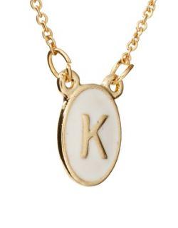 ASOS  Collar con minicolgante de la letra K de ASOS en ASOS