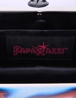Paparazzi  Paparazzi Neon Nina Magazine Clutch Bag at
