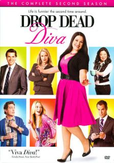 Drop Dead Diva The Complete Second Season DVD, 2011, 3 Disc Set