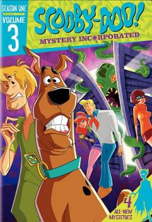 Scooby Doo Mystery Incorporated Season One, Vol. 3 DVD, 2011