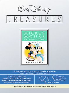 Walt Disney Treasures Mickey Mouse in Living Color Volume Two 1939