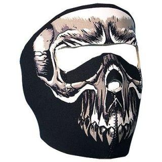 Newly listed 2 N 1 Reversible Motorcycle Biker, Skiers Neoprene Mask