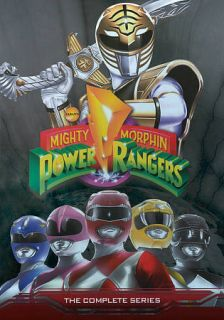 Morphin Power Rangers The Complete Series DVD, 19 Disc Set