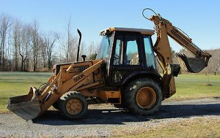 Case 580K 4 Wheel Drive Backhoe Loader Extendahoe Cummins 3.9 Diesel