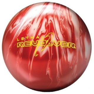 LETHAL REVOLVER BOWLING ball 15 lb $199 BRAND NEW IN BOX