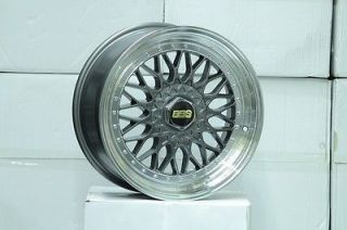 17 RS Style 4x100 4x114 Wheels Rims BMW E30 Civic 240sx Integra Golf