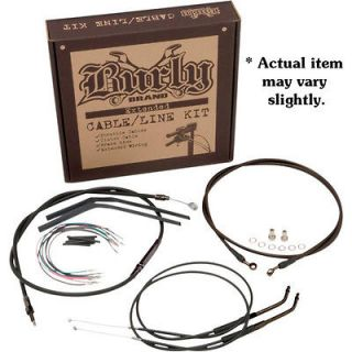 Ape Hangers Handlebar Cable & Wire Kit for 2007 2012 Harley Sportster