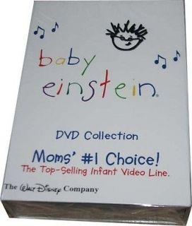NEW DISNEY BABY EINSTEIN 26 DISC DVD SET ~ SHELF PULL ~ NO RESERVE