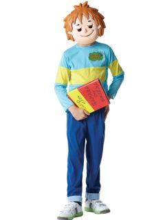 KIDS CHILDS BOYS LICENSED HORRID HENRY BOOK WEEK FANCY DRESS OUTFIT